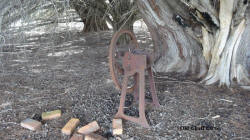 Chaff Cutter at Old House Site